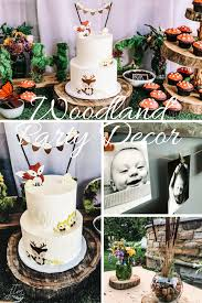 Planning A Woodland Animals Themed Party First Thyme Mom
