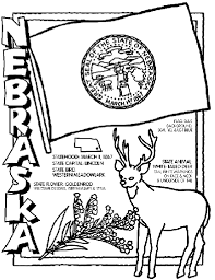 Small Picture Nebraska Coloring Page crayolacom