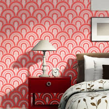 Wall Stencil Patterns Magnificent Wall Stencils Scallop Pattern Allover Stencil For Painting Better