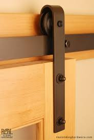 barn door hardware classic flat track by real sliding hardware