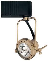 plc lighting tr611 pb track lighting 1 light sport collection polished brass finish brass track lighting