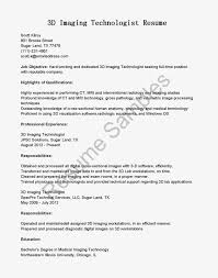 Mesmerizing Medical Technologist Resume Template On Resume For