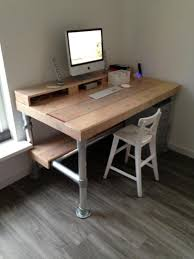 Diy Industrial Desk Tutorial On How To Create An Industrial Desk From Wood And Pipe