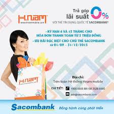 Sacombank - Thẻ tín dụng Sacombank luôn có những chương...