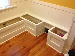 Kitchen Nook Furniture Diy Custom Kitchen Nook Storage Benches