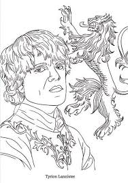 Picturesque Design Ideas Game Of Thrones Coloring Pages Bes With