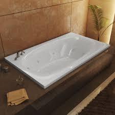 kohler archer white acrylic rectangular alcove bathtub ideas
