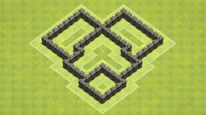 Town Hall 4 Base Design Clash Of Clans Town Hall 4 Defense Coc Th4 Best Trophy Base Layout Defense Strategy