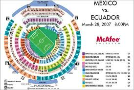 Probable Seating Map For The Coliseum Games Bigsoccer Forum