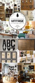 vintage office decor. Best 25 Vintage Office Ideas On Pinterest Decor R