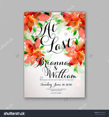 wedding invitation or card with tropical floral background Wedding Invitation Postcard Vector wedding invitation or card with tropical floral background greeting postcard in grunge retro vector elegance pattern with flower rose illustration vintage vector and psd - wedding invitation postcard