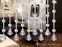 2018 aaa top quality 30mm diamond pendant crystal garland glass bead chains chandelier replacement diy garland pendants from harvestcrystal
