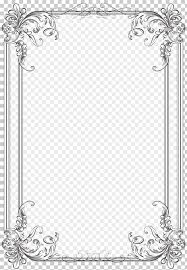 Floral Borders For Word Borders And Frames Wedding Invitation Frames Microsoft Word