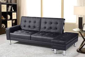 sofa bed with storage. New Contemporary Modern Knightsbridge Faux Leather Storage Ottoman Fold Down Sofa Bed In Black With Built Bluetooth Stereo Speakers (Black): I