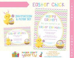 Easter Printable Invitation Easter Egg Hunt Invitation Easter Brunch Invite Instant Download Edit In Adobe Reader Printable Flyer
