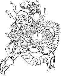 Alien Coloring Pages Predator Coloring Pages Alien Vs Predator