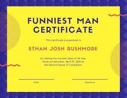 Funny Awards At Work Funny Certificates Template Fun Certificates U2026 Work