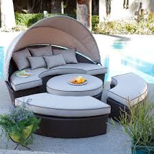 patio furniture deals patio furniture target belham living rendezvous all weather wicker sectional daybed