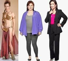 carrie fisher weight loss. Plain Fisher Carrie Fisher Shows Off 40pound Weight Loss Is Prepping For U0027Star Wars 7u0027 In Weight Loss E