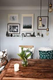 Bilderwand Im Esszimmer Wanddeko Wohnen Interieur In