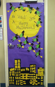 classroom door decorations for halloween. Cute And Fun Halloween Door Decorating Ideas Classroom Decorations For O
