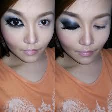 my b a egyptian eye makeup attempt cc please