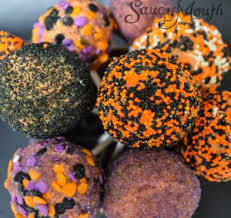 halloween oreo balls. Simple Balls That Also Means Halloween Is Fast Approaching Too I Had Recently Went To A  Baby Shower Where Tried These Amazing  Inside Oreo Balls