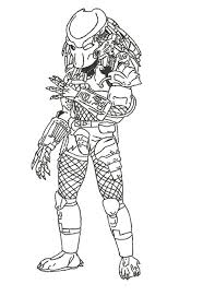 Small Picture Predator Coloring Pages For Kids Disney Coloring Pages
