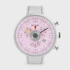 17 best images about watches pocket watches nice paul smith men s watches pink cycle eyes chronograph watch