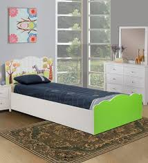 Interior Design Kids Bedroom Gorgeous Buy Friends Kids' Bed In White Lime Green Finish By Kids Fun