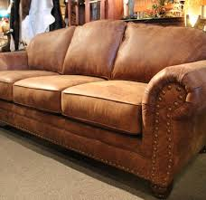 leather couches. Unique Leather Excellent Rustic Leather Sofa Western Brown Couch Inside Distressed  Ordinary With Couches