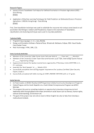 Co Curricular And Extracurricular Activities In Resume Applying For