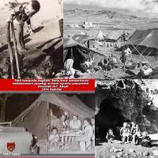TÜRK Dünyası - 1974 Öncesinde Kıbrıs Türklerinin cani Rum'ların vahşetinden  ailelerini koruyabilmek için adanın %3'lük alanında 11 yıl gettolar halinde  çadırlarda ve mağaralarda yaşam savaşı verdiği günler... Türk Mukavemet  Teşkilatının Kıbrıs'lı Türk