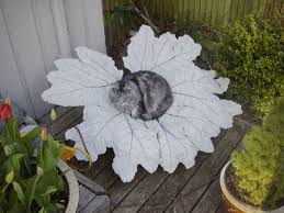 nera leaf made with concrete