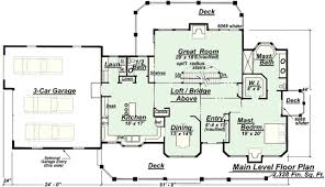 Model P  Main Floor Plan from Creative House PlansThe larger version of this plan  the Model P    shares the same fine features of the smaller P  house plan