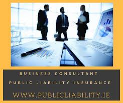 businesanagement consultant public liability insurance