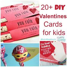 20 Unique Diy Valentines Day Card Ideas For Kids