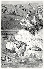 sea monster illustration.  Sea Sea Monsters To Monster Illustration D