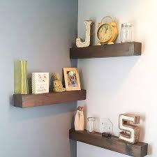 Easy To Install Floating Shelves Easy to Hang Floating Shelves JustKnotWood 94