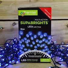 Supabright Led Lights Premier Christmas Supabright Light Decorations Indoor And Outdoor 360 Leds Blue