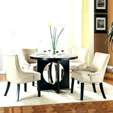 black round dining table with leaf black round dining table set for 4 tables modern room