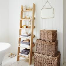 styles the rooms with rustic ladder shelf homesfeed inside small wooden ladder shelf