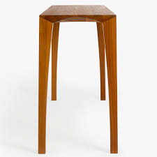 johansen hall table walnut end