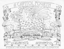 Small Picture Of July Coloring Pages Chinese Fireworks Page Redcabworcester