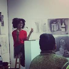 Alexis Pauline Gumbs  author of Spill  at Ancestry Books in Minneapolis  November