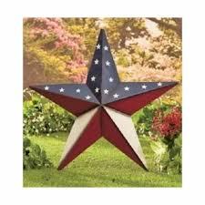 americana patriotic star barn wall decor 24 large indoor outdoor metal stakes on patriotic outdoor wall art with americana patriotic star barn wall decor 24 large indoor outdoor