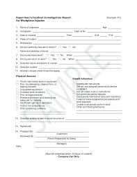 Fire Investigation Template Kenblanchard Co