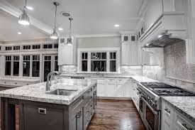 White Kitchens With White Granite Countertops Charming White Granite Countertops For Elegant Kitchen Traba Homes
