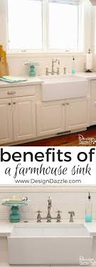 the benefits of a farmhouse sink