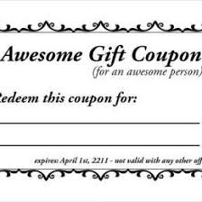 Printable Homemade Coupons Blank Coupon Templates 24257530223 Free Templates For Coupons